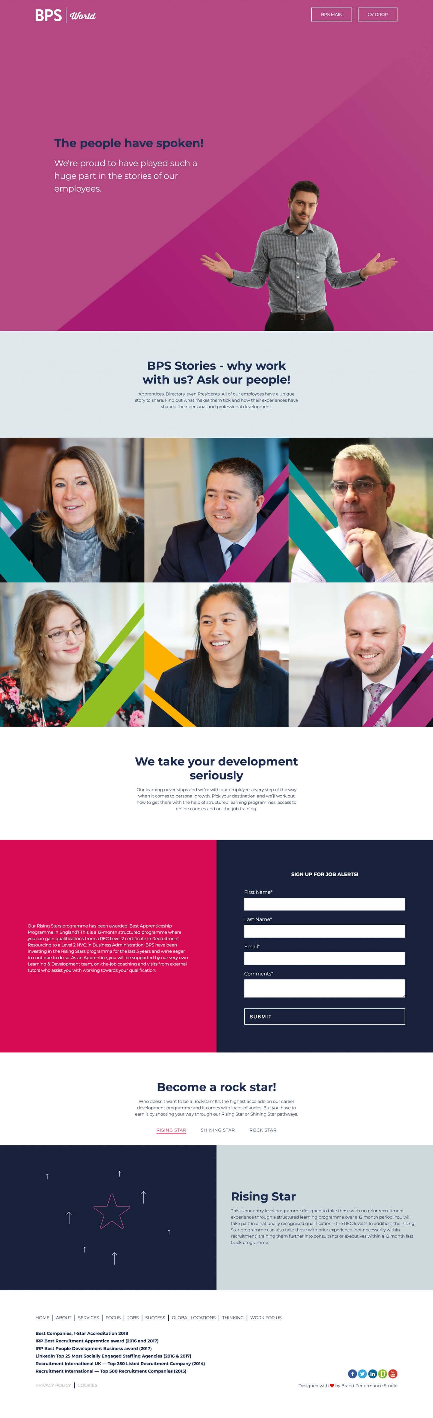 Dynamic Page Index |  BPS-World Ltd. - Screenshot