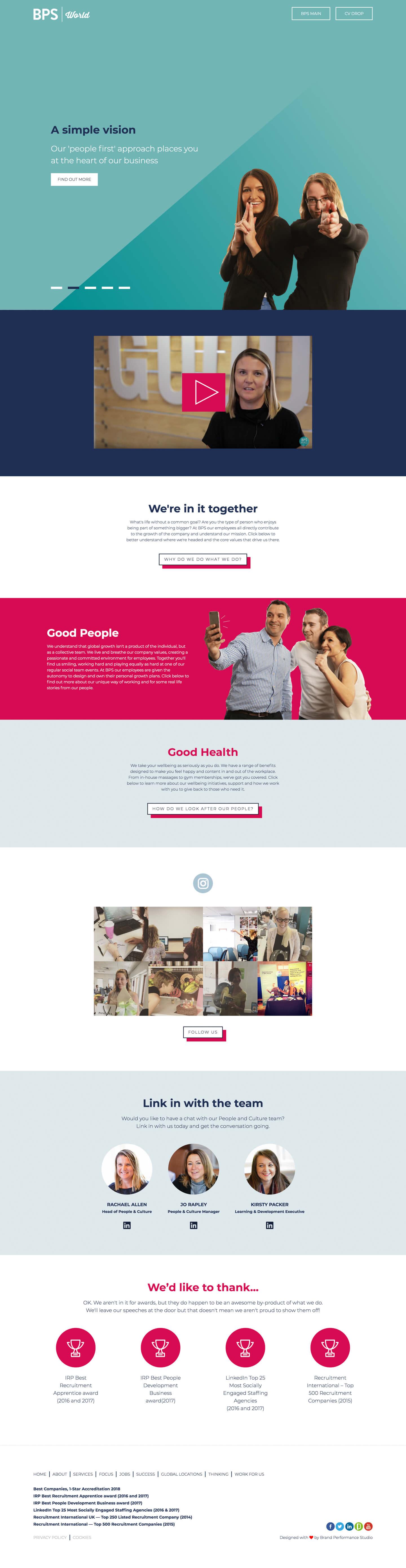 Site Page    BPS-World Ltd. - Screenshot